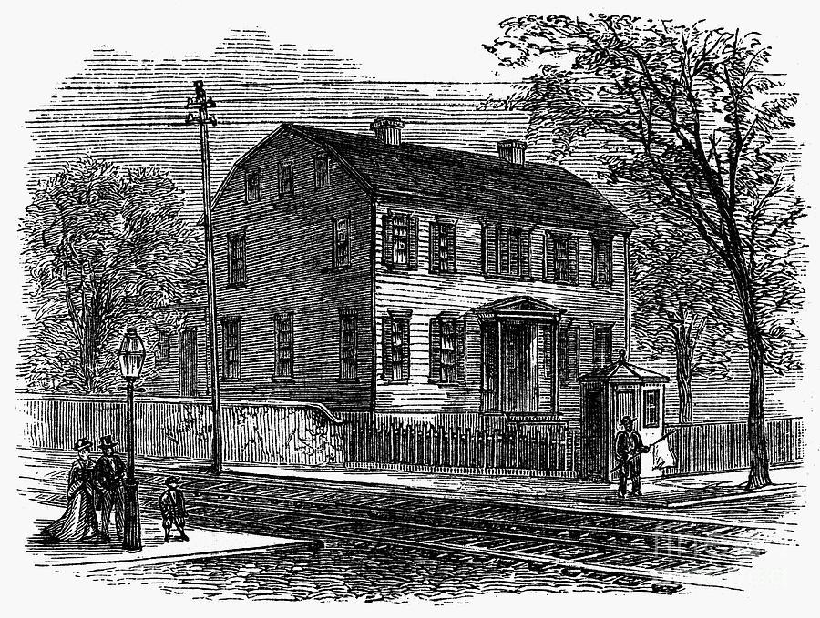 Aaron Burr: Birthplace Photograph