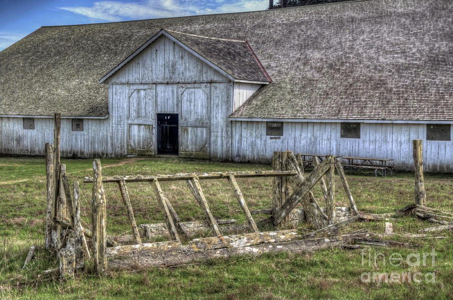 Abandoned Barn Photograph  - Abandoned Barn Fine Art Print