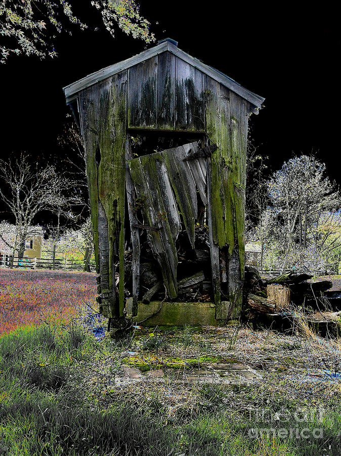 Alone Photograph - Abandoned by Cindy Roesinger