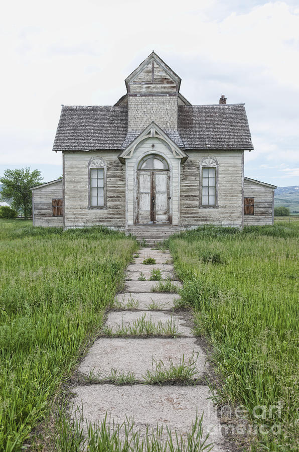 Abandoned Photograph - Abandoned Countryside Church by Dave & Les Jacobs