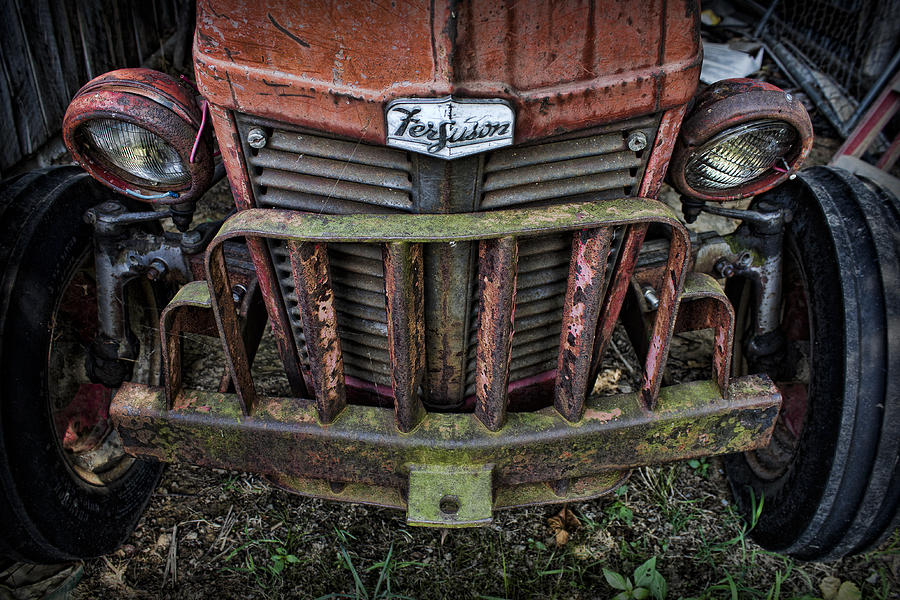 Tractor Photograph - Abandoned by Elizabeth Wilson