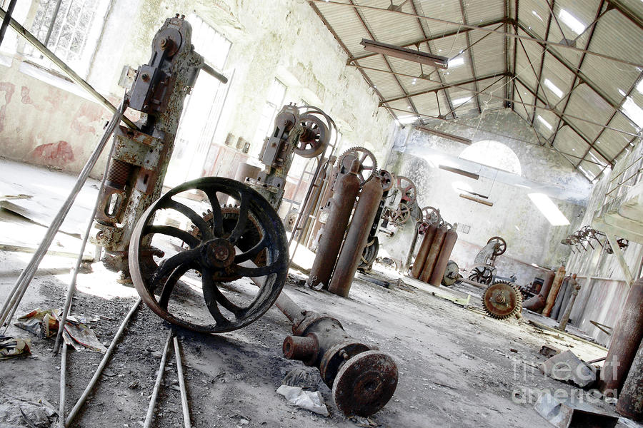 Abandoned Factory Photograph