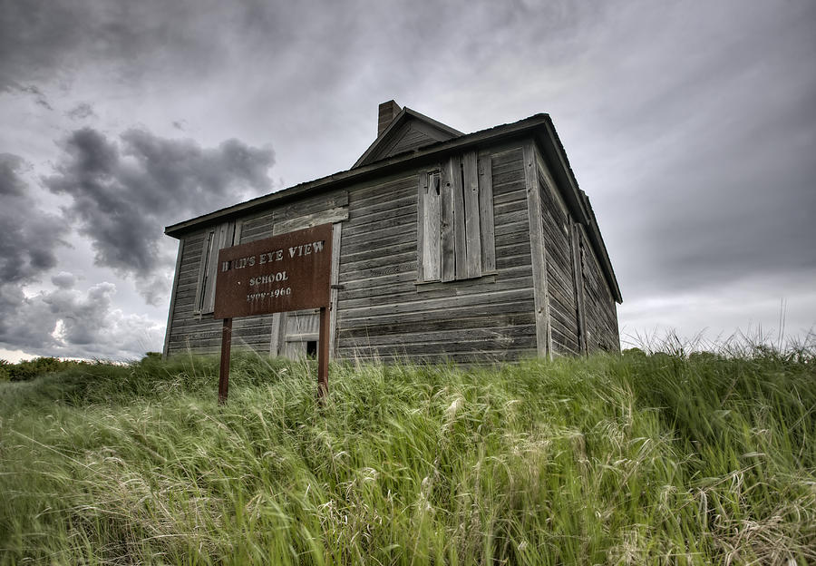 Abandoned Farm Digital Art