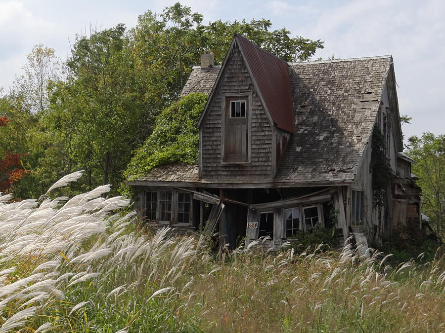 Abandoned Mixed Media - Abandoned Farmhouse 2 by Bruce Ritchie