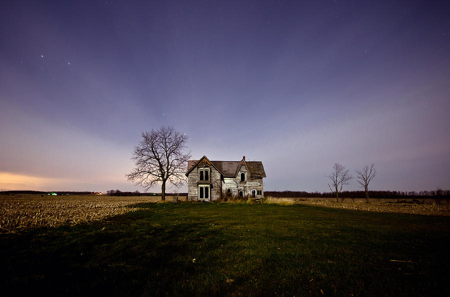 The gallery for --> Abandoned House At Night