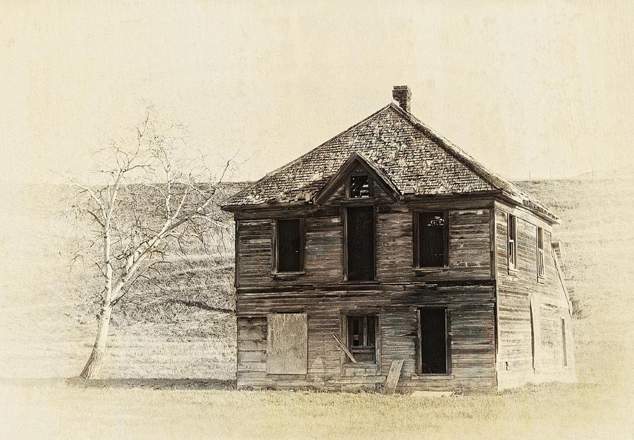 Abandoned Homestead - Okanogan Washington Photograph