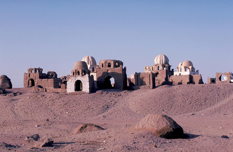 Abandoned Ruins In Afghanistan Photograph
