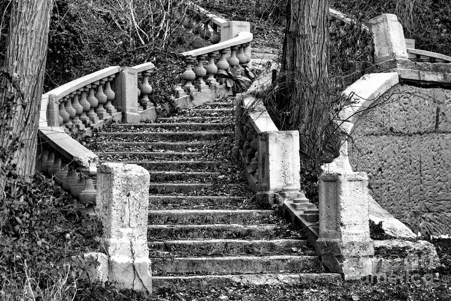 Abandoned Staircase Photograph  - Abandoned Staircase Fine Art Print