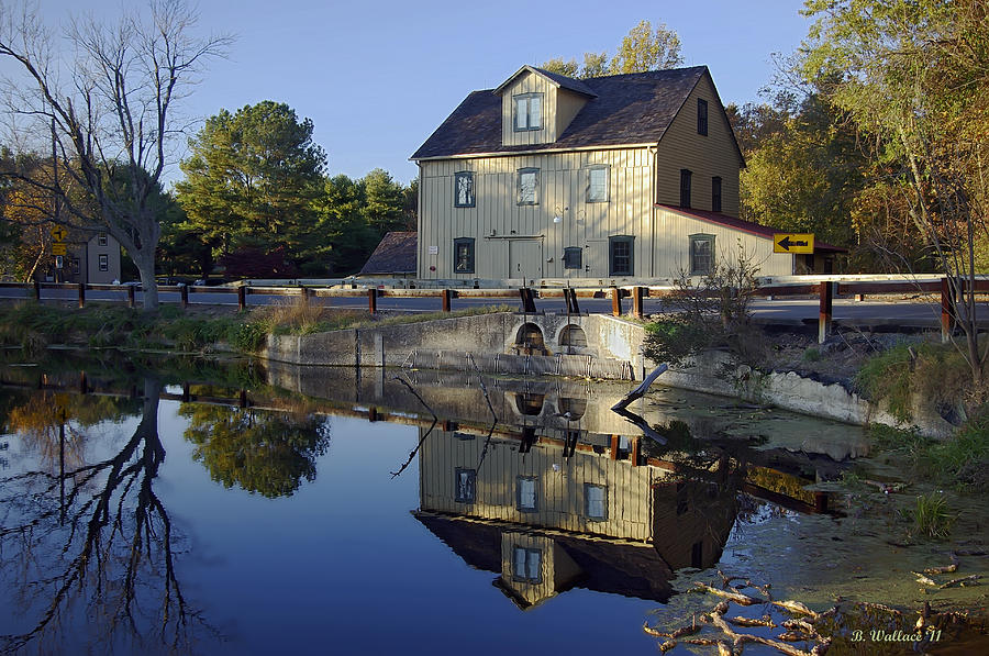 Brian Wallace Photograph - Abbotts Mill by Brian Wallace