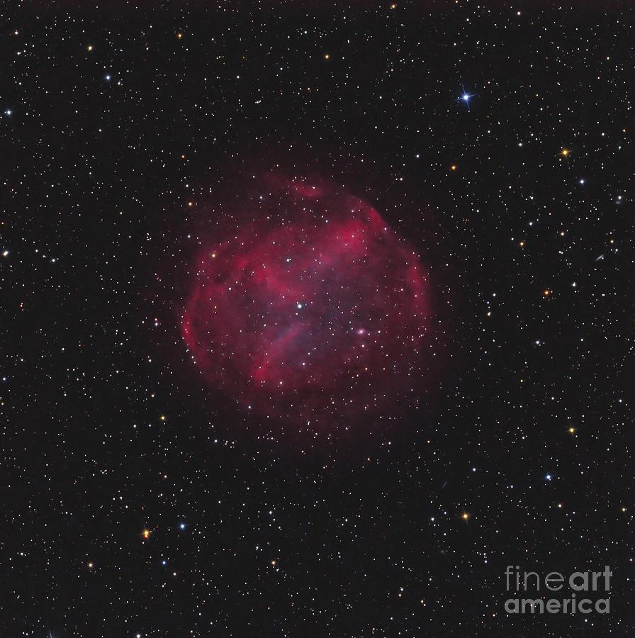 Abell 74, Planetary Nebula Photograph