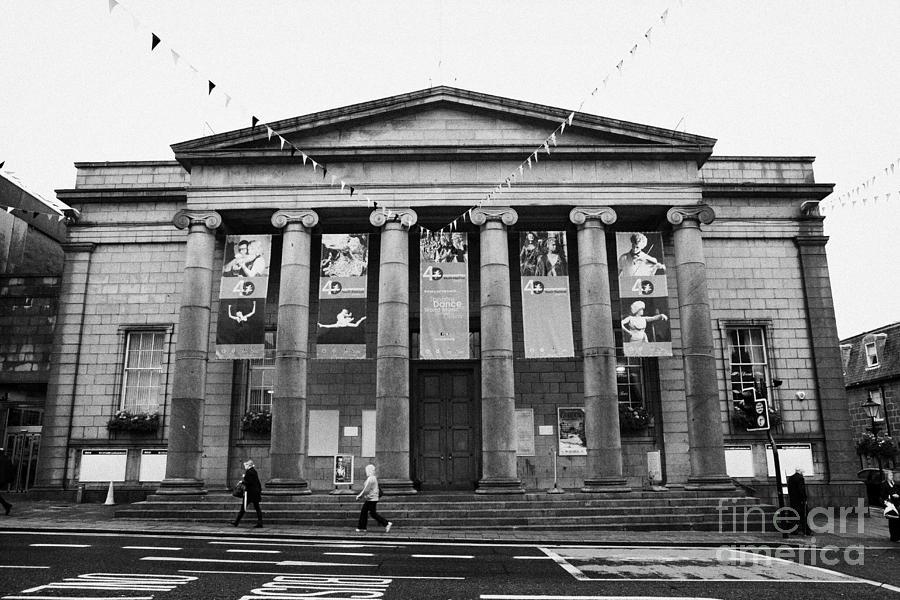 Aberdeen Photograph - Aberdeen Music Hall Formerly The Citys Assembly Rooms Union Street Scotland Uk by Joe Fox