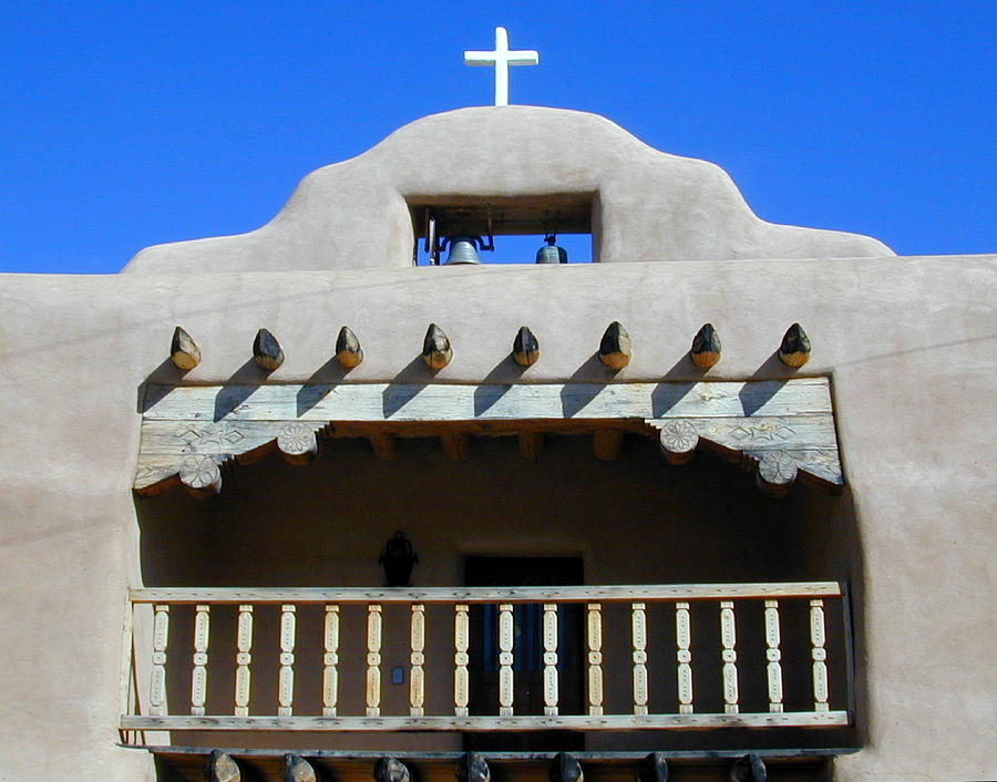 Abiquiu Church Number 2 Photograph  - Abiquiu Church Number 2 Fine Art Print