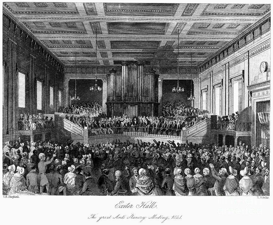 Abolition Convention, 1840 Photograph