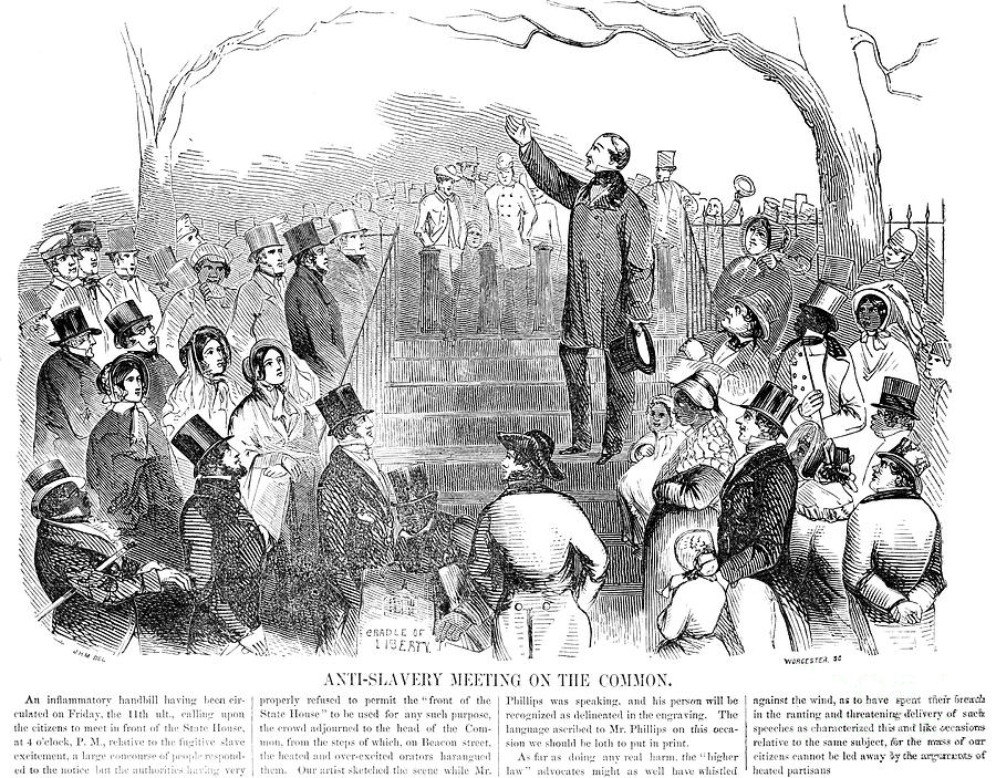 Abolition: Phillips, 1851 Photograph