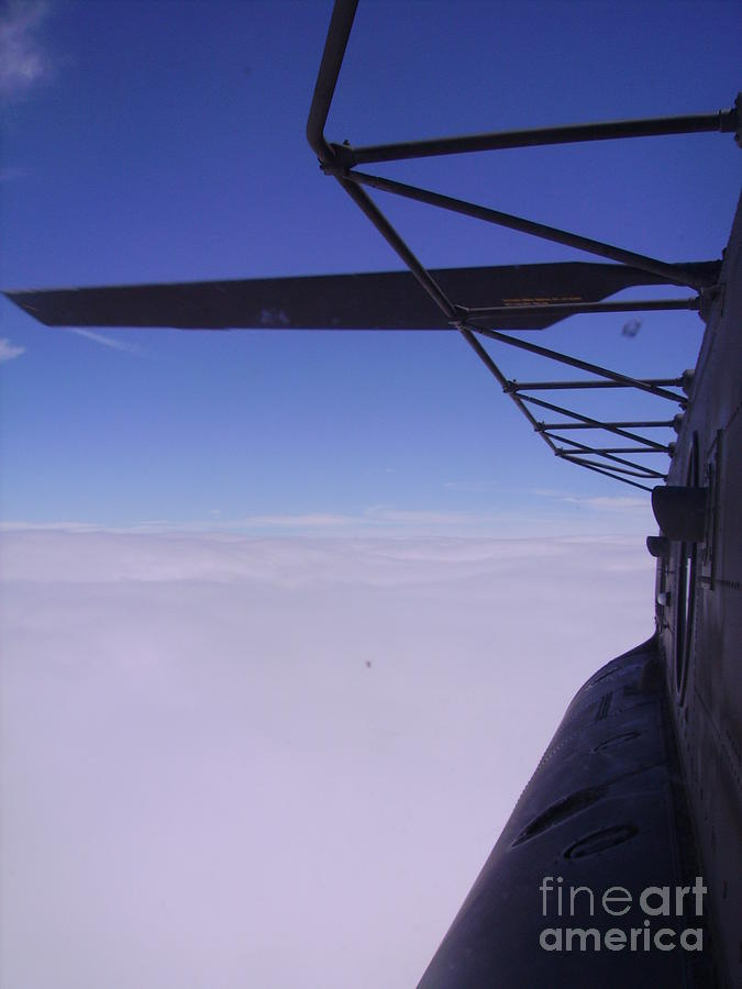 Above The Clouds Photograph