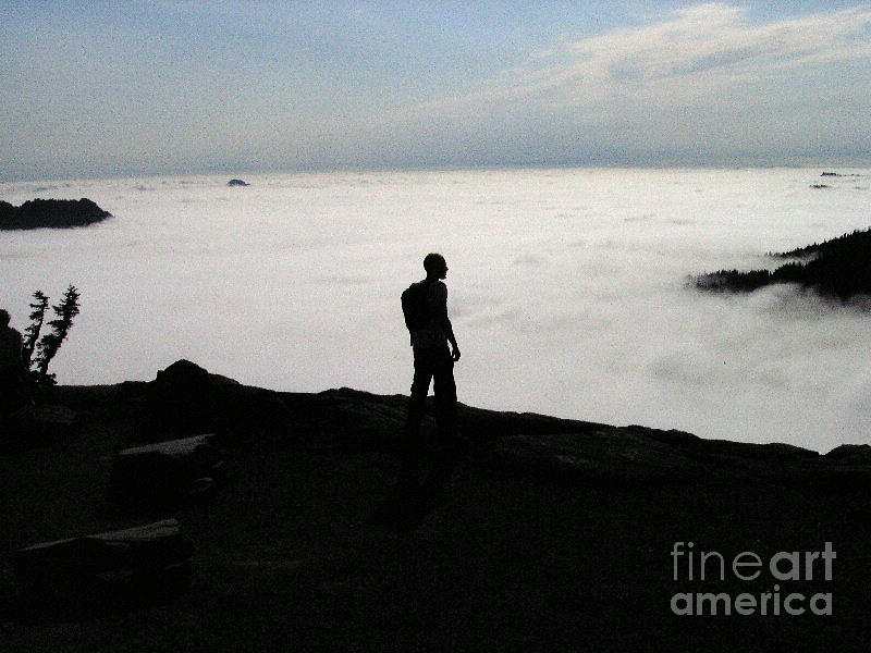 Above The Clouds Photograph  - Above The Clouds Fine Art Print
