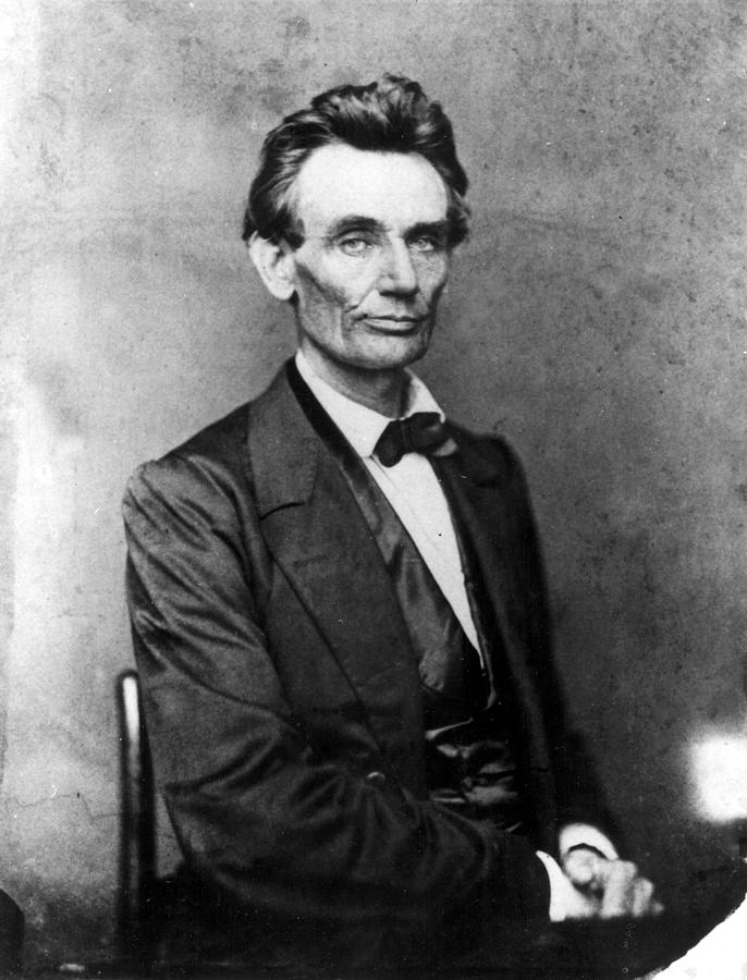 Abraham Lincoln 1860portrait By B Photograph  - Abraham Lincoln 1860portrait By B Fine Art Print