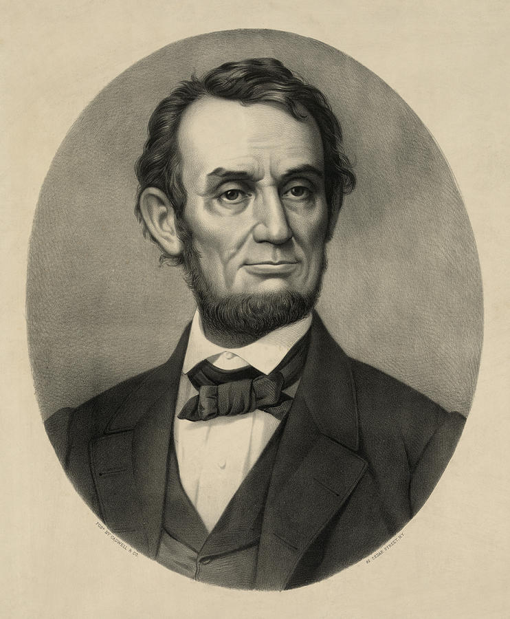 Abraham Lincoln Portrait Photograph  - Abraham Lincoln Portrait Fine Art Print