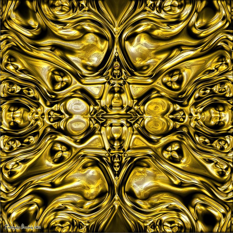 Original Digital Art - Abrakadabra I.   by Tautvydas Davainis