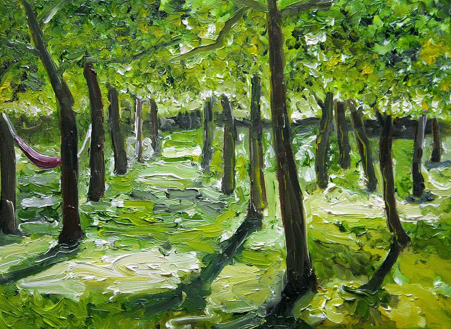 Abruzzo Orchard Painting