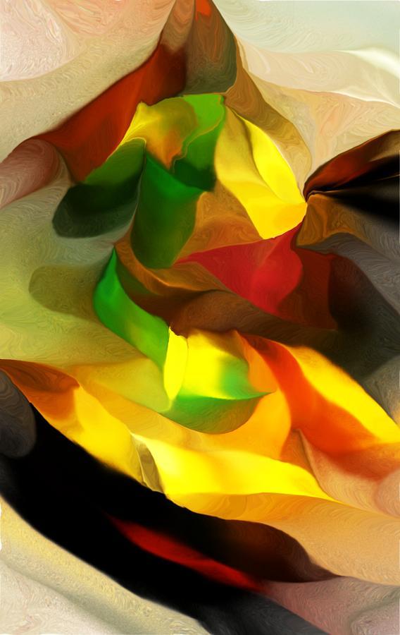Fine Art Digital Art - Abstract 080512 by David Lane