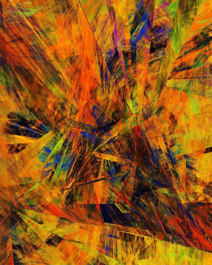Rt Digital Art - Abstract 100611 by David Lane