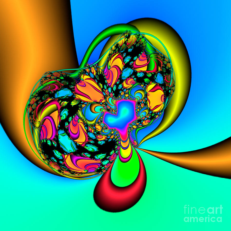 Abstract 2009041115 Digital Art  - Abstract 2009041115 Fine Art Print