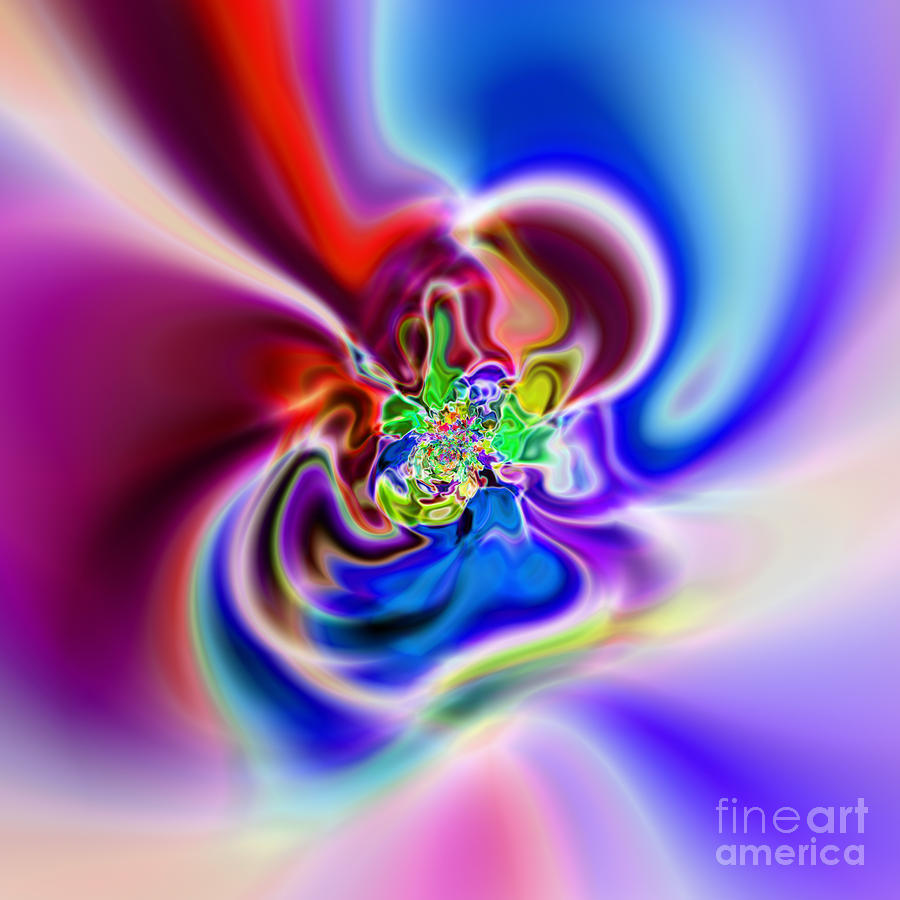 Abstract 230 Digital Art  - Abstract 230 Fine Art Print