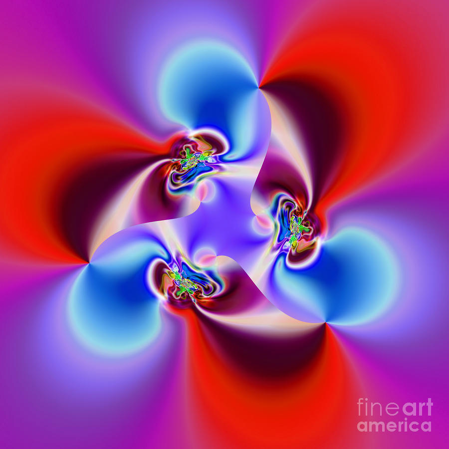 Abstract 231 Digital Art  - Abstract 231 Fine Art Print