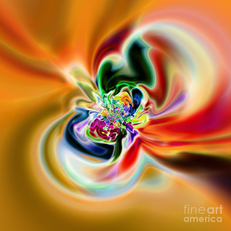 Abstract 237 Digital Art  - Abstract 237 Fine Art Print