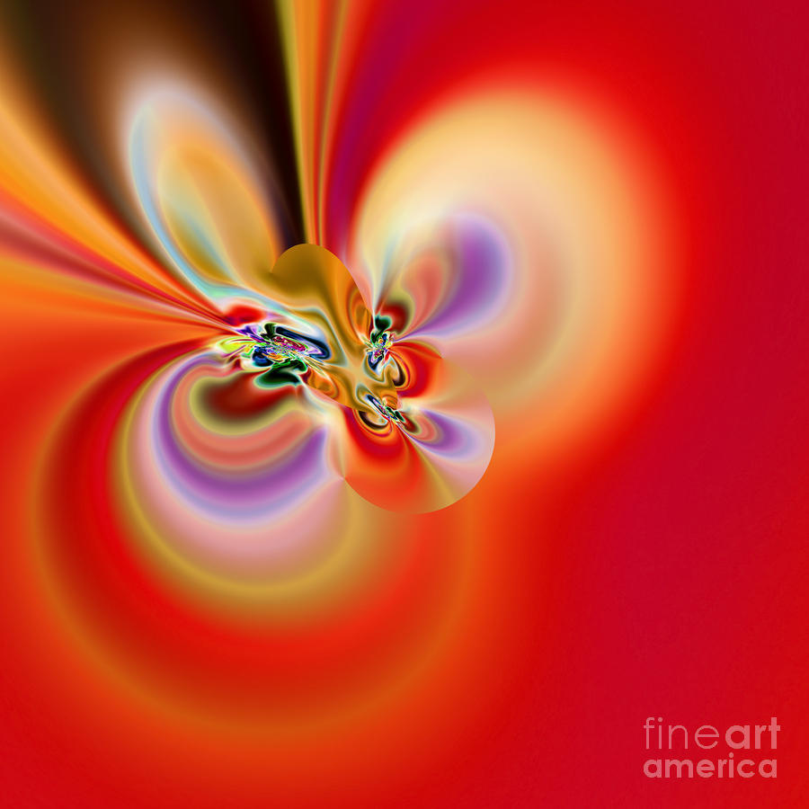 Abstract 239 Digital Art  - Abstract 239 Fine Art Print