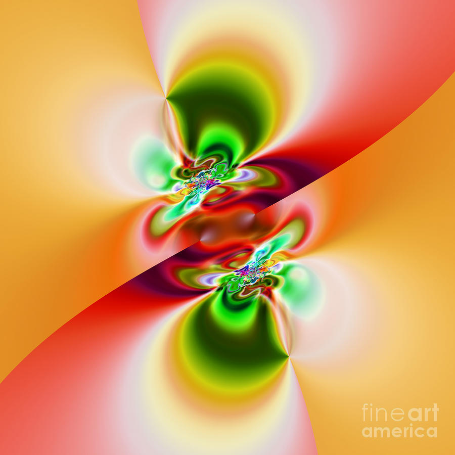 Abstract 241 Digital Art  - Abstract 241 Fine Art Print
