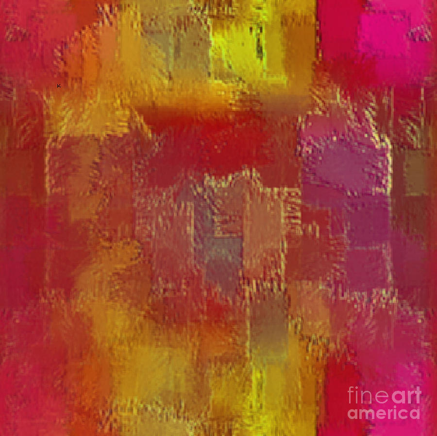 Abstract Digital Art - Abstract 258 by John Krakora