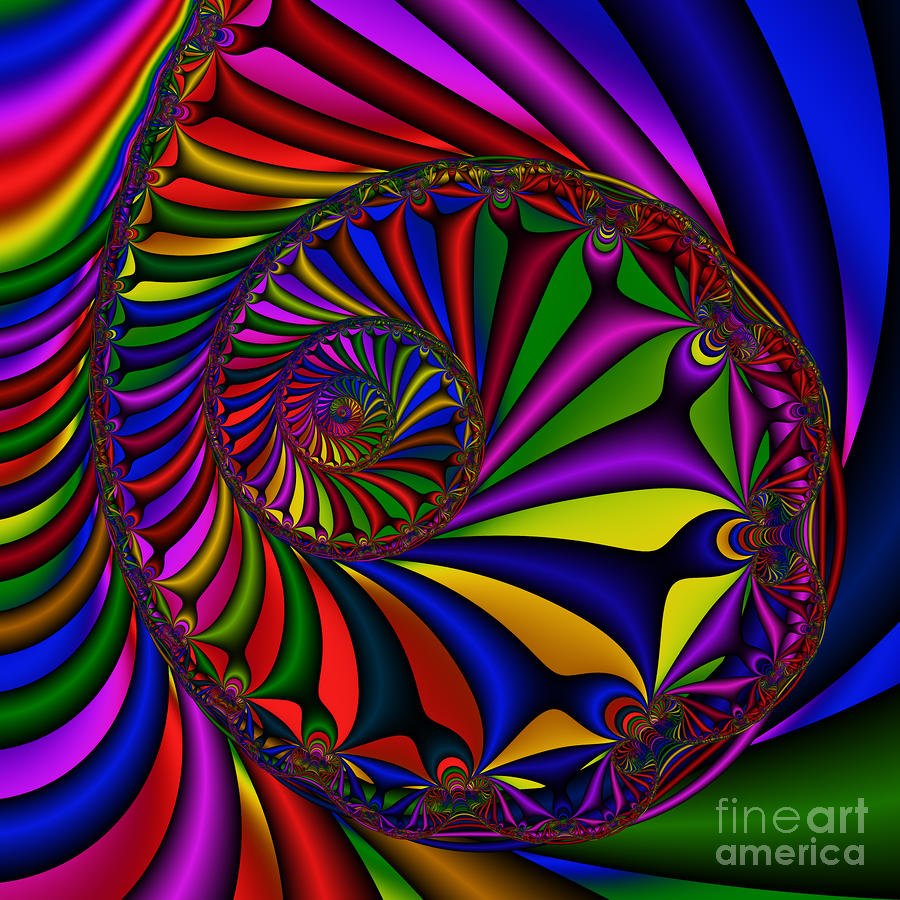 Abstract 527 Digital Art  - Abstract 527 Fine Art Print