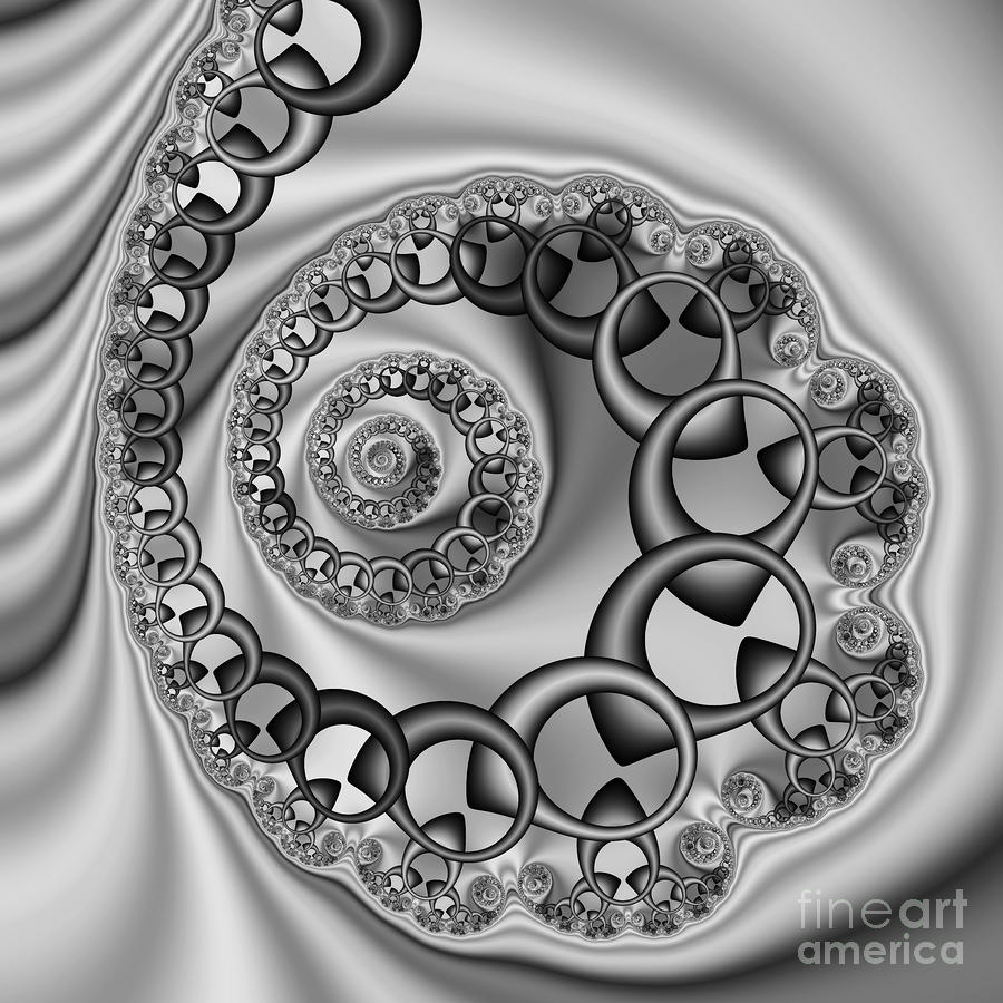 Abstract 528 Bw Digital Art