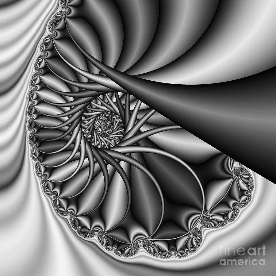 Abstract 530 Bw Digital Art
