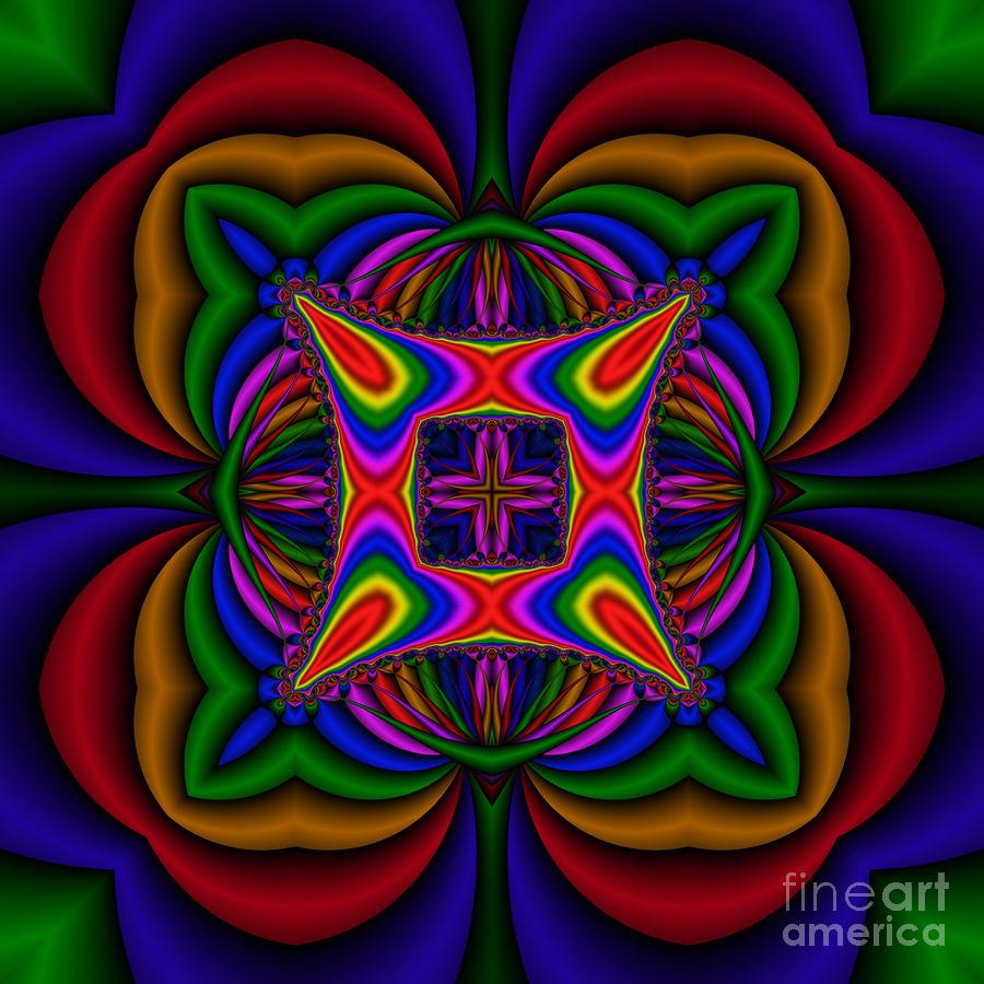 Abstract 607 Digital Art