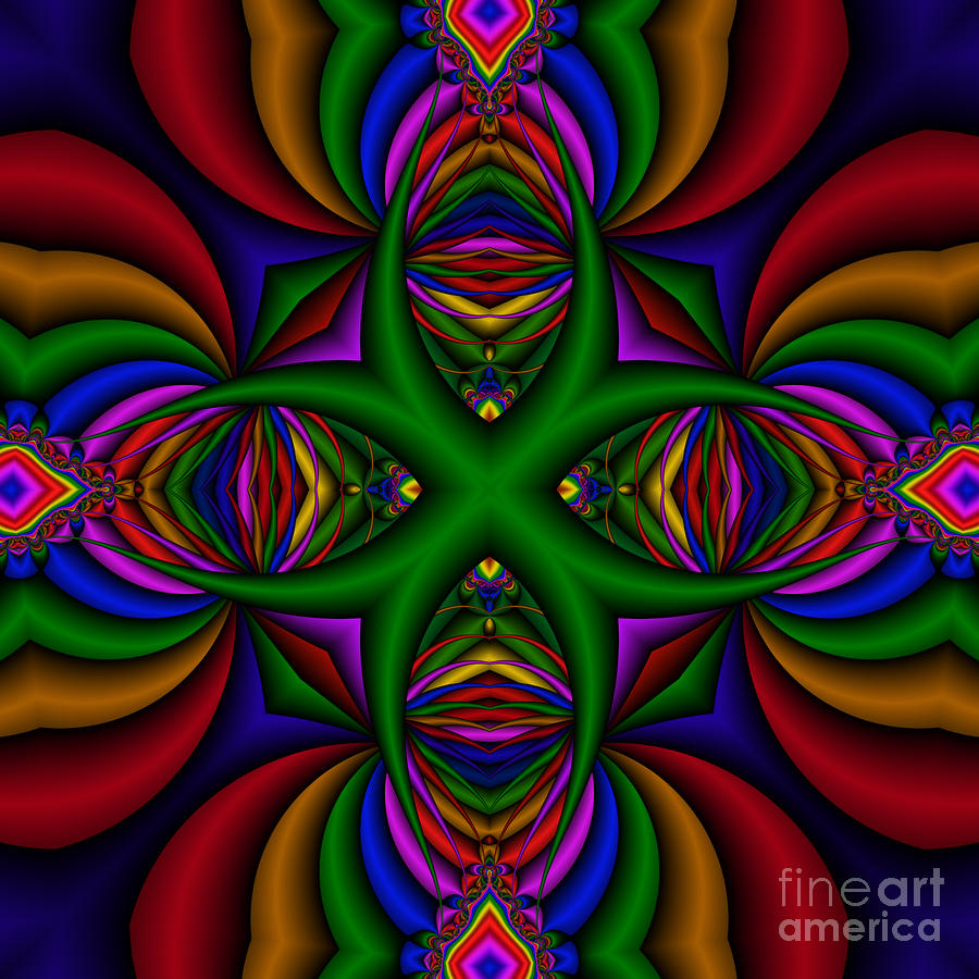 Abstract 609 Digital Art