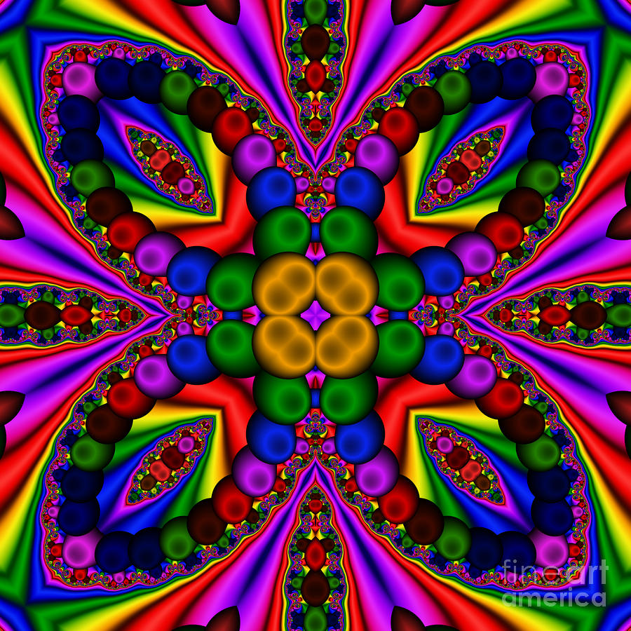 Abstract 659 Digital Art