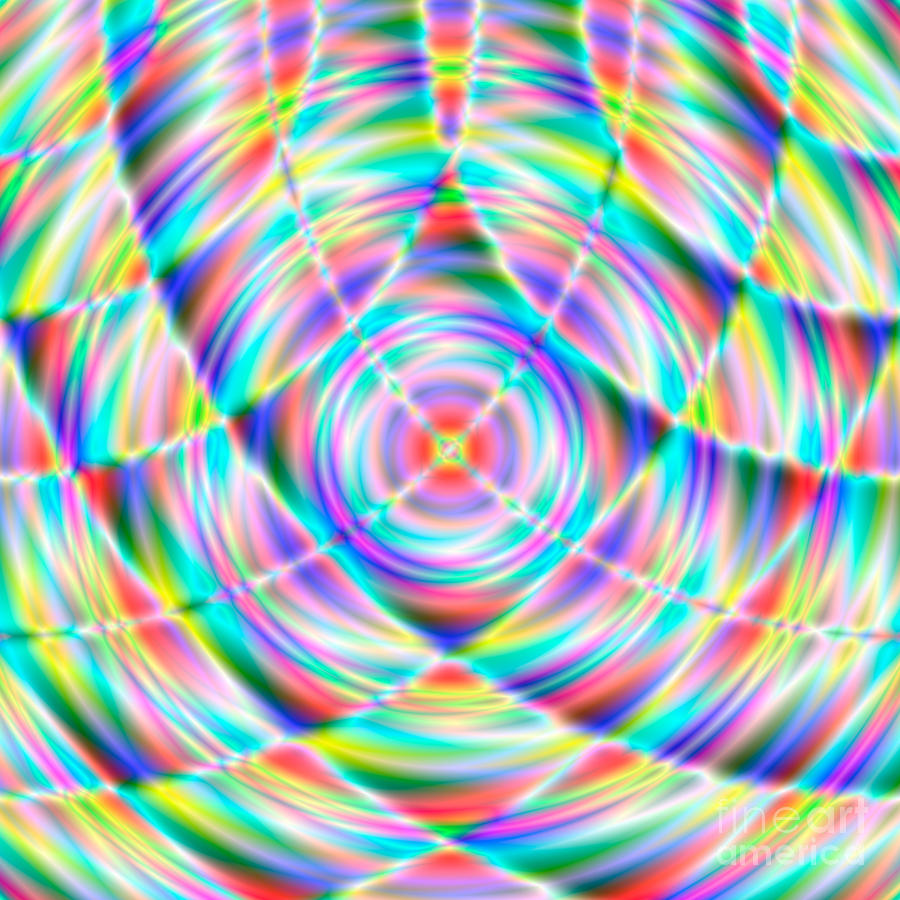 Abstract 722 Digital Art  - Abstract 722 Fine Art Print