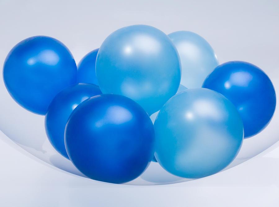 Abstract Balloon Photograph