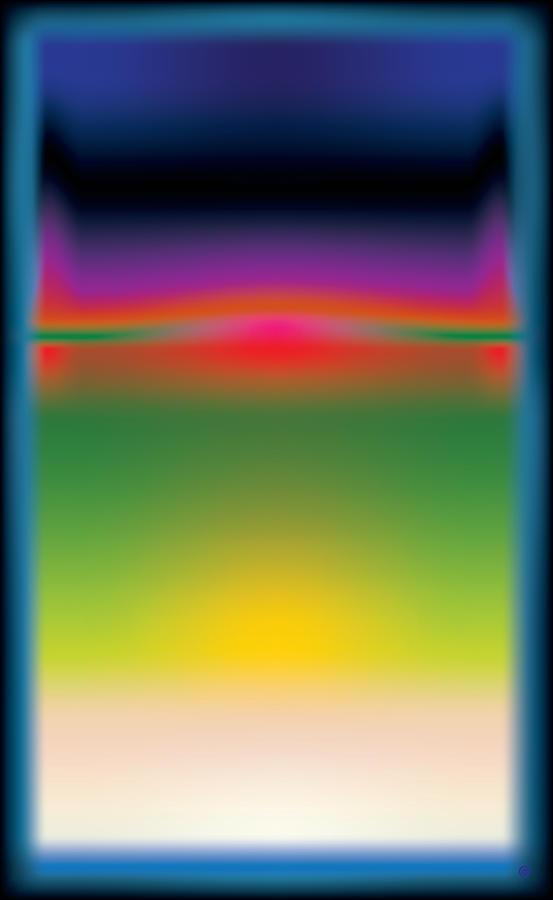 Abstract Color  Digital Art