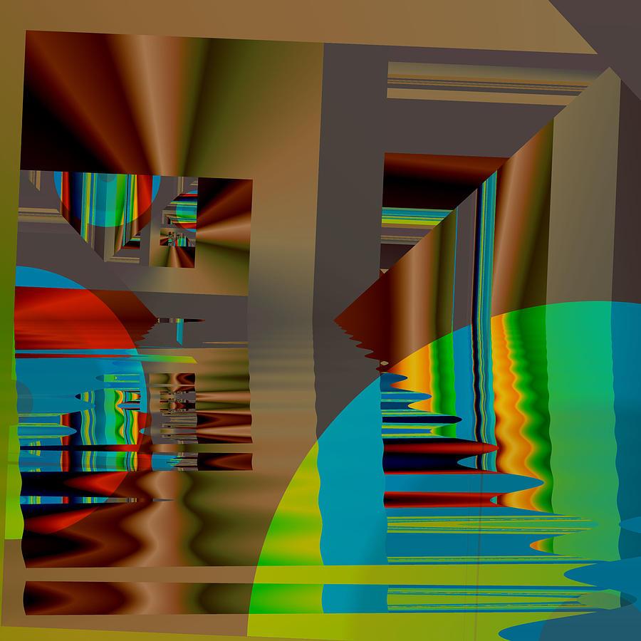 Abstract Art Digital Art - Abstract Colors by Mario Carini