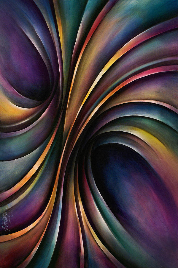 Abstract Design 55 Painting  - Abstract Design 55 Fine Art Print