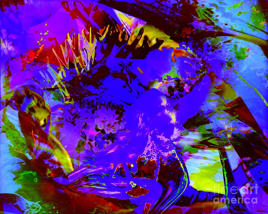 Abstract dreams digital art by doris wood - The hideout in the woods an artists dream ...