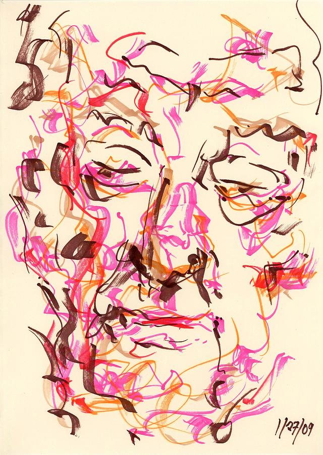 Abstract faces drawings wallpapers
