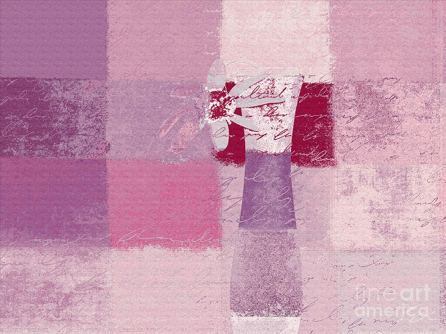 Abstract Floral - 11v3t09 Digital Art
