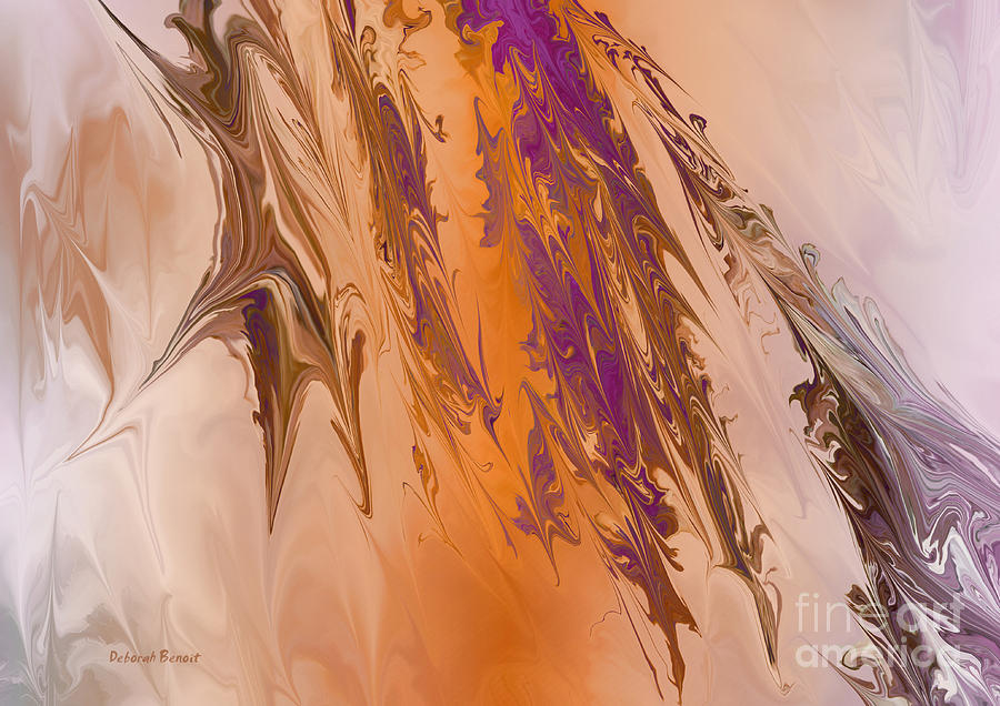Abstract In July Digital Art  - Abstract In July Fine Art Print