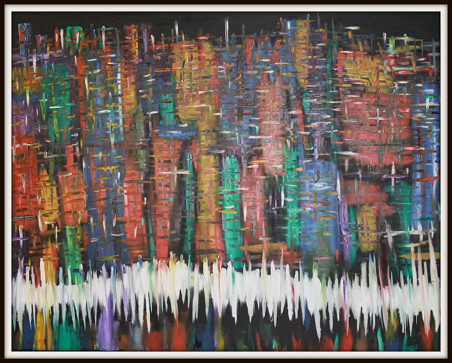 Abstract New York Painting