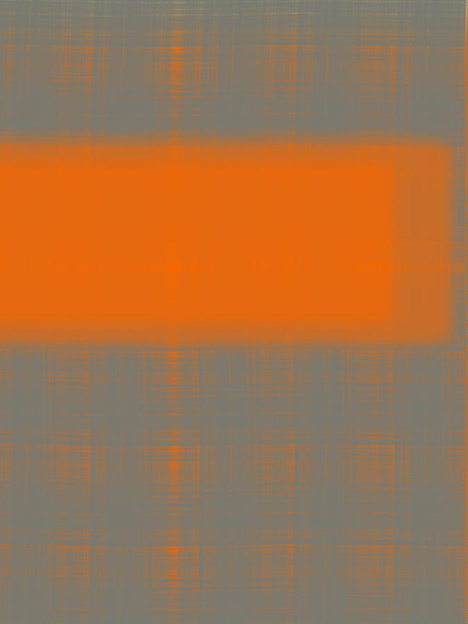 Abstract Orange 3 Painting